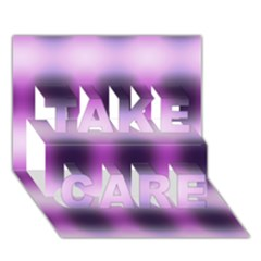 New 3 Take Care 3d Greeting Card (7x5)