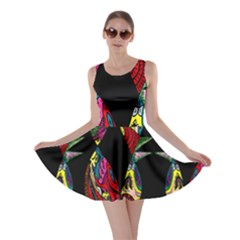 Birds Of Eight Skater Dress