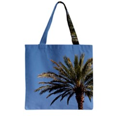 Tropical Palm Tree  Grocery Tote Bag by BrightVibesDesign