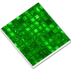 Glossy Tiles,green Small Memo Pads