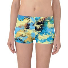 Abstract #4 Boyleg Bikini Bottoms by Uniqued