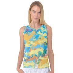 Abstract #5 Women s Basketball Tank Top by Uniqued