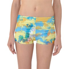 Abstract #5 Reversible Boyleg Bikini Bottoms by Uniqued
