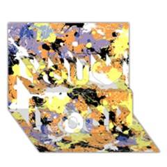 Abstract #9 You Rock 3d Greeting Card (7x5)