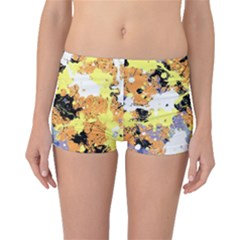 Abstract #9 Boyleg Bikini Bottoms by Uniqued