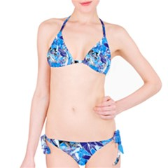 Abstract Floral Bikini Set by Uniqued