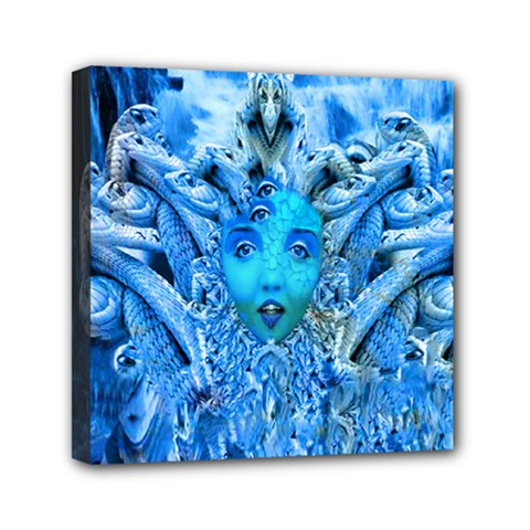 Medusa Metamorphosis Mini Canvas 6  X 6  by icarusismartdesigns