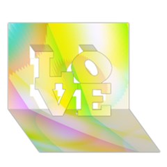 New 5 Love 3d Greeting Card (7x5)  by timelessartoncanvas