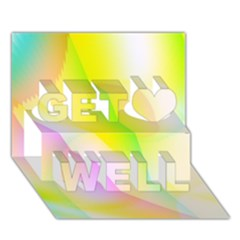 New 5 Get Well 3d Greeting Card (7x5)  by timelessartoncanvas