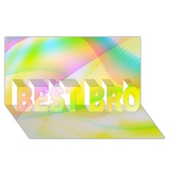 New 6 Best Bro 3d Greeting Card (8x4)  by timelessartoncanvas
