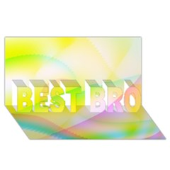 New 7 Best Bro 3d Greeting Card (8x4)  by timelessartoncanvas