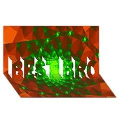 New 10 Best Bro 3d Greeting Card (8x4)  by timelessartoncanvas