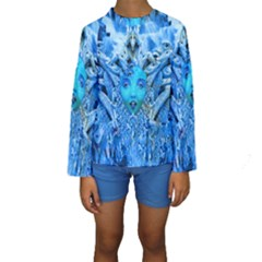Medusa Metamorphosis Kid s Long Sleeve Swimwear