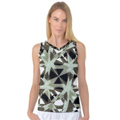 Modern Camo Print  Women s Basketball Tank Top by dflcprintsclothing