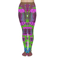 Ladies Looking At Beauty And Love Women s Tights