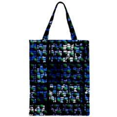 Looking Out At Night, Abstract Venture Adventure (venture Night Ii) Zipper Classic Tote Bag by DianeClancy