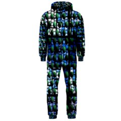 Looking Out At Night, Abstract Venture Adventure (venture Night Ii) Hooded Jumpsuit (men)  by DianeClancy