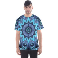 Star Connection, Abstract Cosmic Constellation Men s Sport Mesh Tee