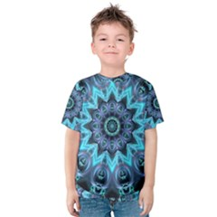 Star Connection, Abstract Cosmic Constellation Kid s Cotton Tee