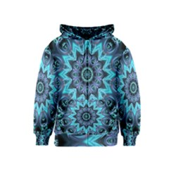 Star Connection, Abstract Cosmic Constellation Kids  Zipper Hoodie