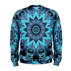 Star Connection, Abstract Cosmic Constellation Men s Sweatshirt
