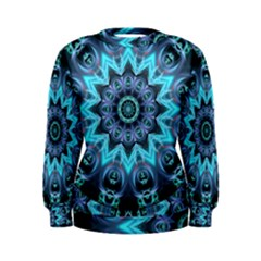 Star Connection, Abstract Cosmic Constellation Women s Sweatshirt