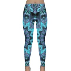 Star Connection, Abstract Cosmic Constellation Yoga Leggings