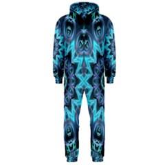Star Connection, Abstract Cosmic Constellation Hooded Jumpsuit (men)