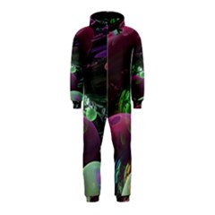 Creation Of The Rainbow Galaxy, Abstract Hooded Jumpsuit (kids) by DianeClancy