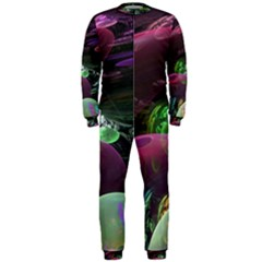 Creation Of The Rainbow Galaxy, Abstract Onepiece Jumpsuit (men)  by DianeClancy