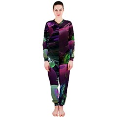 Creation Of The Rainbow Galaxy, Abstract Onepiece Jumpsuit (ladies)