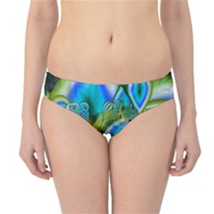 Mystical Spring, Abstract Crystal Renewal Hipster Bikini Bottoms