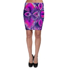 Rose Crystal Palace, Abstract Love Dream  Bodycon Skirts by DianeClancy