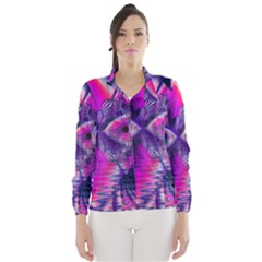 Rose Crystal Palace, Abstract Love Dream  Wind Breaker (women) by DianeClancy