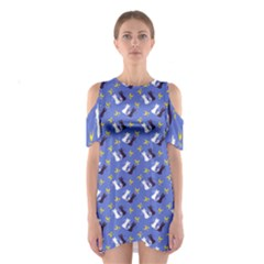 Moon Kitties Women s Cutout Shoulder Dress