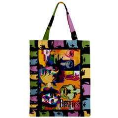 Beatles Large Classic Tote Bag by DryInk