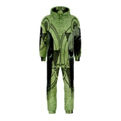 Awesome Green Skull Hooded Jumpsuit (kids)