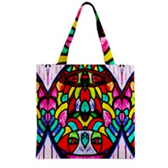 Sun Dial Grocery Tote Bag by MRTACPANS