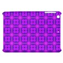 Abstract Dancing Diamonds Purple Violet Apple iPad Mini Hardshell Case View1
