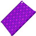 Abstract Dancing Diamonds Purple Violet Apple iPad Mini Hardshell Case View4