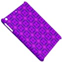 Abstract Dancing Diamonds Purple Violet Apple iPad Mini Hardshell Case View5
