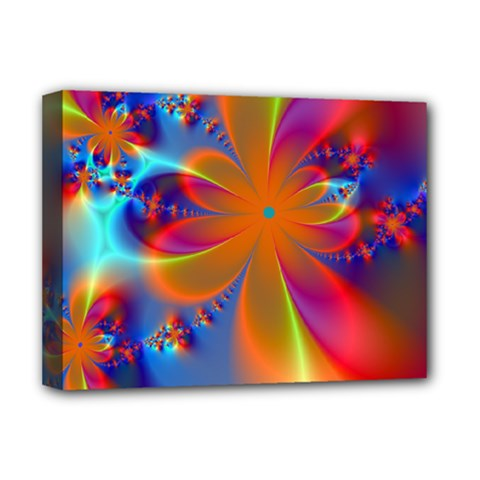 Bright Deluxe Canvas 16  X 12   by Delasel