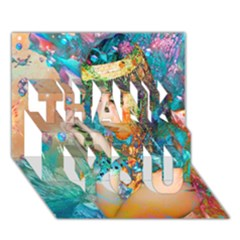 Star Illumination Thank You 3d Greeting Card (7x5)  by icarusismartdesigns