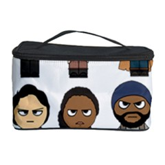 The Walking Dead   Main Characters Chibi   Amc Walking Dead   Manga Dead Cosmetic Storage Cases by PTsImaginarium