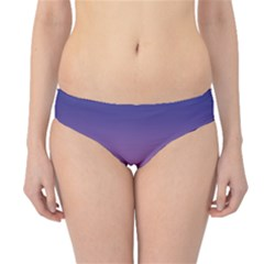 Abstract Tropical Birds Purple Sunset  Hipster Bikini Bottoms by WaltCurleeArt