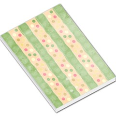 Seamless Colorful Dotted Pattern Large Memo Pads by TastefulDesigns