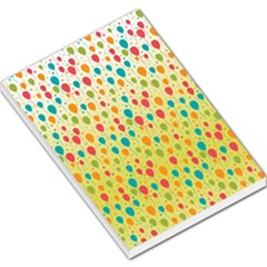 Colorful Balloons Backlground Large Memo Pads by TastefulDesigns