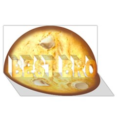 White Chocolate Chip Lemon Cookie Novelty Best Bro 3d Greeting Card (8x4)  by WaltCurleeArt