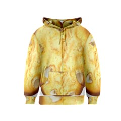 White Chocolate Chip Lemon Cookie Novelty Kids  Zipper Hoodie by WaltCurleeArt