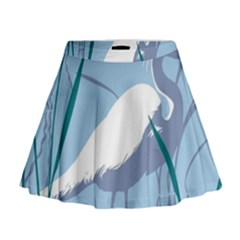 Egret Mini Flare Skirt